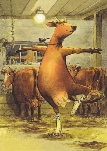 dancing cow 4